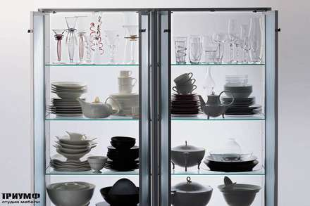 Итальянская мебель Driade - Витрины для посуды Hako