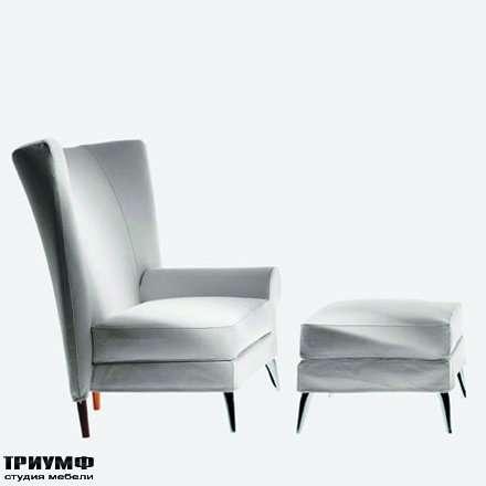 Итальянская мебель Driade - Кресло с пуфом