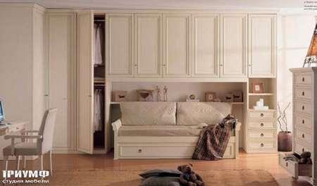 Итальянская мебель Ferretti e Ferretti - Стенка из крашенного дерева, Morfeo