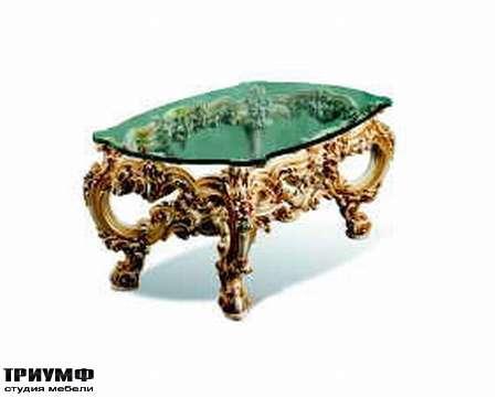 Итальянская мебель Silik - Столик со стеклом Orfeo