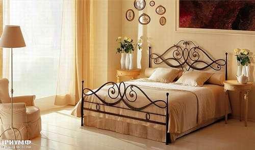 Итальянская мебель Giusti Portos - Кровать тонированная Merylin