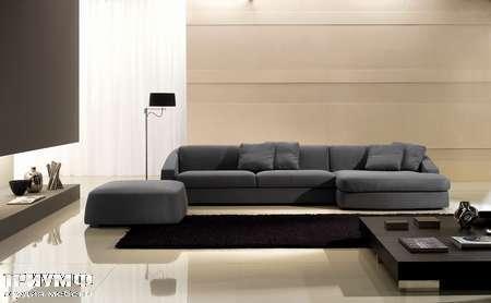 Итальянская мебель CTS Salotti - Диван с лежанкой, модель Club