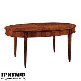 Итальянская мебель Morelato - Стол овальный в дереве
