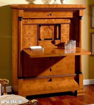 Итальянская мебель Colombo Mobili - Секретер стиль Бидермайер арт.311 кол. Paradisi