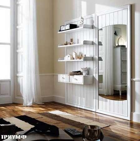 Итальянская мебель Flai - гостинная или прихожая в легкой классике