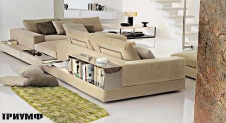 Итальянская мебель Arketipo - диван Plat угловой