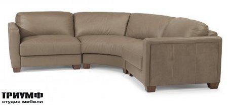Американская мебель Flexsteel - Wyman Leather Sectional