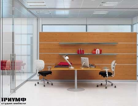 Итальянская мебель Frezza - Рабочее место, коллекция Areaplan Kristal