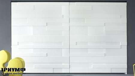 Итальянская мебель Olivieri - Шкаф Stripe раздвижные двери глянцевый и матовый лак