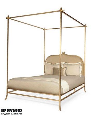 Американская мебель Badgley Mischka - Casablanca Poster Bed   Queen