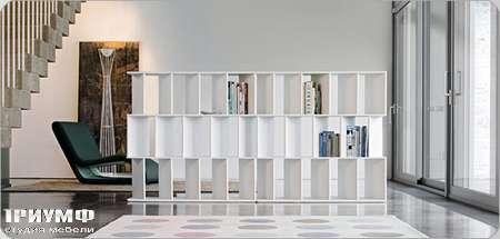 Итальянская мебель Bonaldo - шкаф книжный Fun