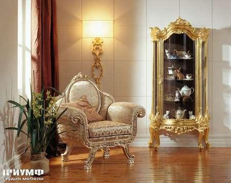 Итальянская мебель Silik - Полукруглая витрина