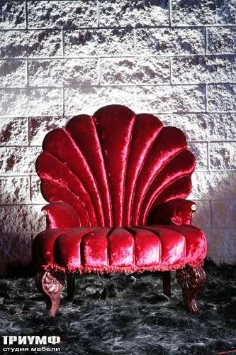 Итальянская мебель Cornelio Cappellini - Кресло Neoclassica  ракушка