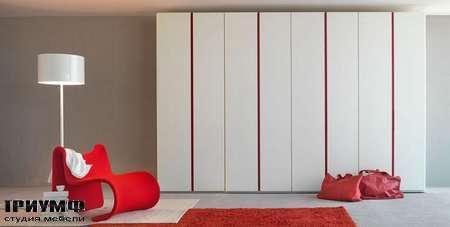 Итальянская мебель Olivieri - Шкаф с распашными дверьми без ручек ante battente