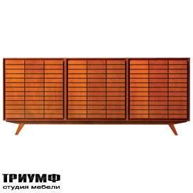 Итальянская мебель Morelato - Комод 3-х секционный ZERO