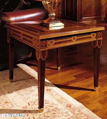 Итальянская мебель Colombo Mobili - Столик в имперском стиле арт.373.65 кол. Leoncavallo