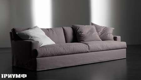 Итальянская мебель Meridiani - софа Bogart в ткани
