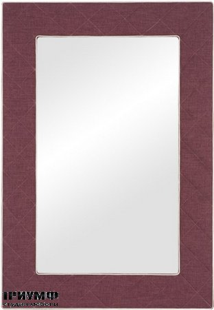 The Brewster Upholstered Button Quilted Mirror
