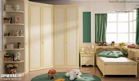 Итальянская мебель Ferretti e Ferretti - Детская с угловым шкафом, happy night