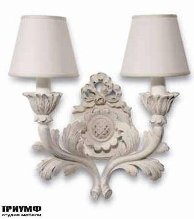 Итальянская мебель Chelini - Бра, крашенное дерево арт. 1182