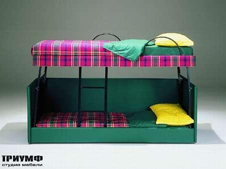 Итальянская мебель Futura - Современная кровать-диван Fiordaliso