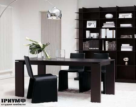 Итальянская мебель Porada - Рабочий стол kevin в комплекте со стульями