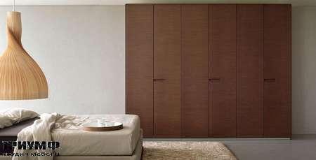 Итальянская мебель Olivieri - Шкаф с распашными дверьми, орех, ante battente