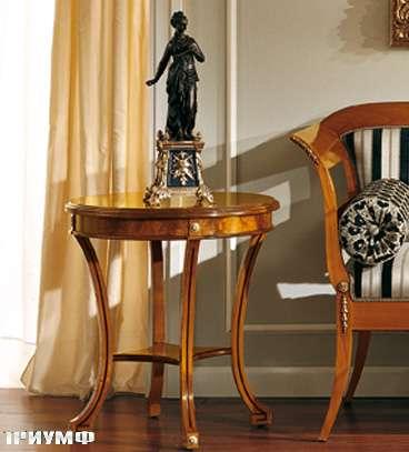Итальянская мебель Colombo Mobili - Столик в имперском стиле под настоль.лампу арт.135.60 кол. Mascagni
