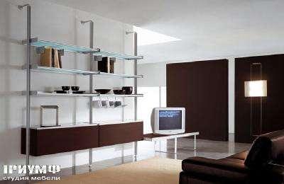 Итальянская мебель Longhi - библиотека 400b