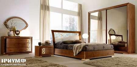 Итальянская мебель Signorini Coco - mylife шкаф Art. 10031, кровать Art. 10002/T