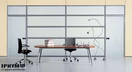 Итальянская мебель Frezza - Рабочий стол директора модерн, коллекция Areaplan