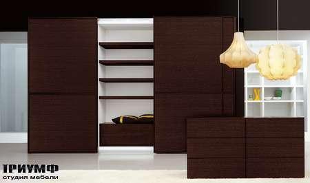 Итальянская мебель Pianca - Шкаф Sipario с 2 раздвижными дверьми