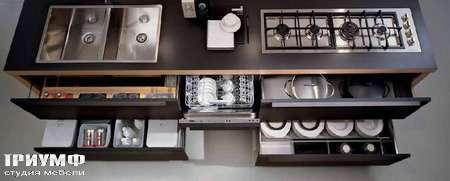 Итальянские кухни Pedini - Кухня Integra - аксессуары для хранения, ящики