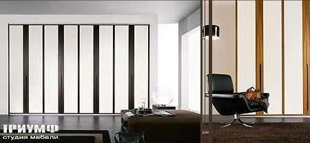 Итальянская мебель Map - Шкаф Inside Liner с полосатыми дверцами