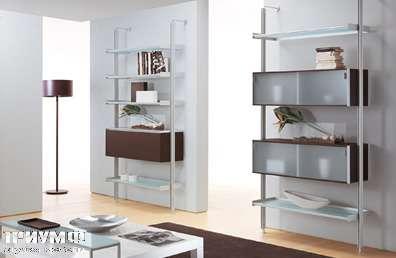 Итальянская мебель Longhi - библиотека 400c