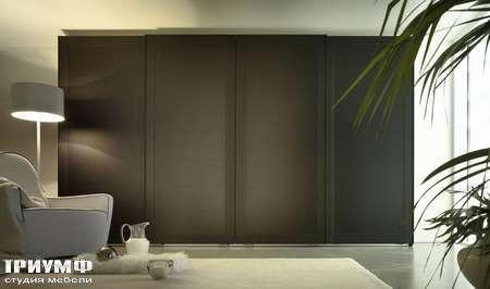 Итальянская мебель Olivieri - Шкаф раздвижной, стекло, дерево ante scorrevole