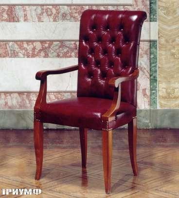 Итальянская мебель Colombo Mobili - Рабочее кресло с капитонне арт.186.РС кол. Albinoni