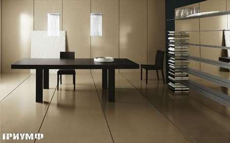 Итальянская мебель Presotto - стол Star раздвижной в венге