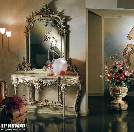 Итальянская мебель Silik - Консоль с персидским мрамором