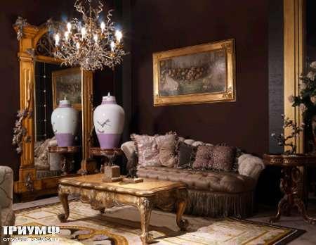 Итальянская мебель Jumbo Collection - Cтолик журнальный резной