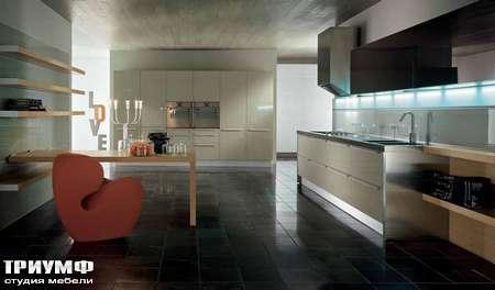 Итальянские кухни Pedini - Кухня Integra композиция с гостиной
