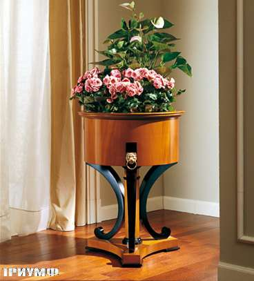 Итальянская мебель Colombo Mobili - Цветочница в стиле Бидермайер арт. 155 кол. Salieri