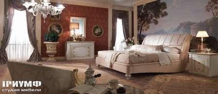 Итальянская мебель Turri - exedra ekus bed