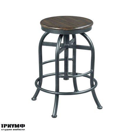 Американская мебель Hammary - Adjustable Height Pub Stool