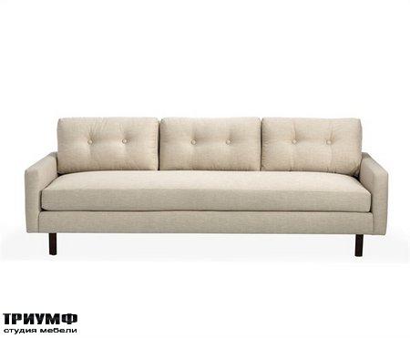 Американская мебель Interlude Home - Aventura Two Arm Sofa