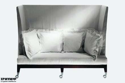 Итальянская мебель Driade - Диван с высокой спинкой