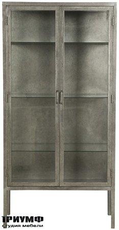 Американская мебель Vanguard - Smith Metal Apothecary Cabinet