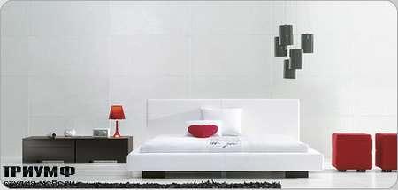 Итальянская мебель Bonaldo - кровать двуспальная Chillin