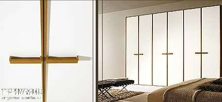 Итальянская мебель Map - Шкаф Inside Profilo с распашными дверьми, с вертикальными ручками
