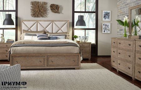 Американская мебель Legacy Classic - Bridgewater Upholstered Bed